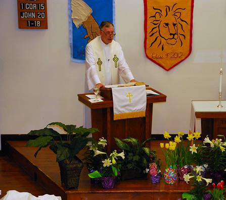 Easter preaching